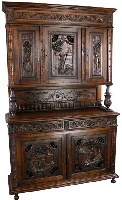 The rise in popularity of Brittany Style antique furniture can be  attributed to a collection of Breton songs, known as The Ballads of  Brittany, ... - What Is Brittany Style Antique Furniture? Letters From EuroLux