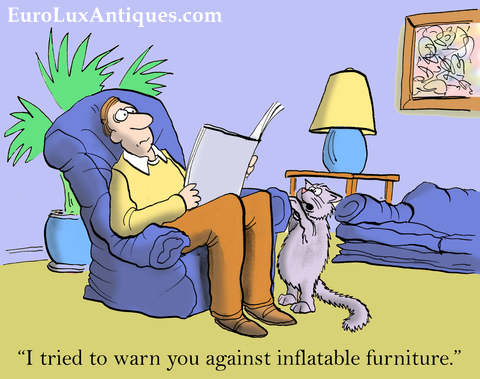Research says 40% of consumers plan to buy better quality furniture next time! EuroLuxAntiques.com
