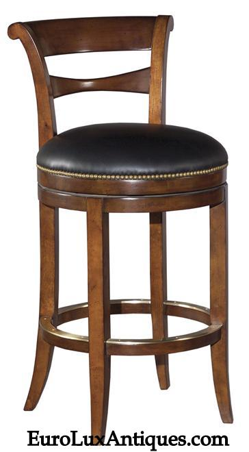 Reproduction Barstool from EuroLuxAntiques.com