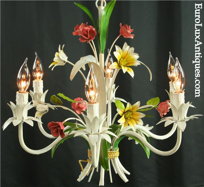 Summery Vintage French Chandelier Lighting