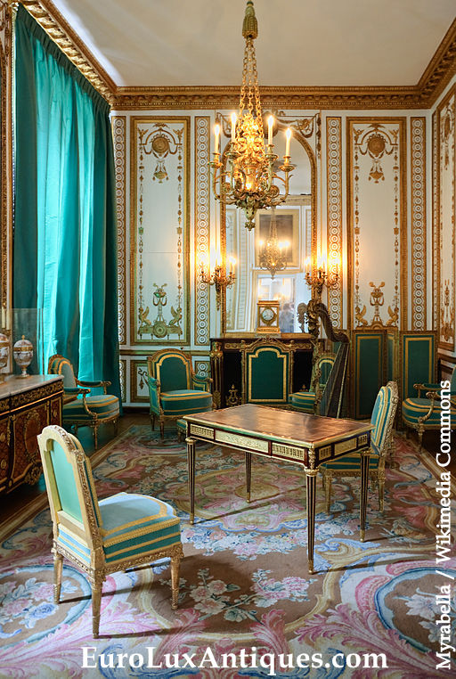 Marie Antionette Gilded Study Palace of Versailles
