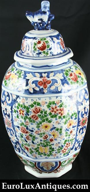 How to sell items like this Antique Delft Jar