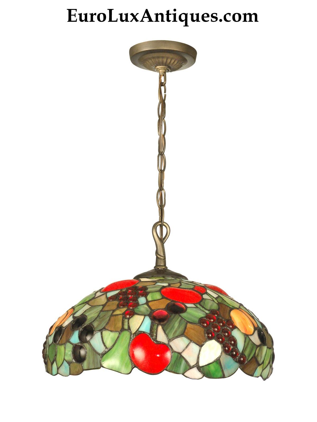 Dale Tiffany fruit chandelier from EuroLuxAntiques.com