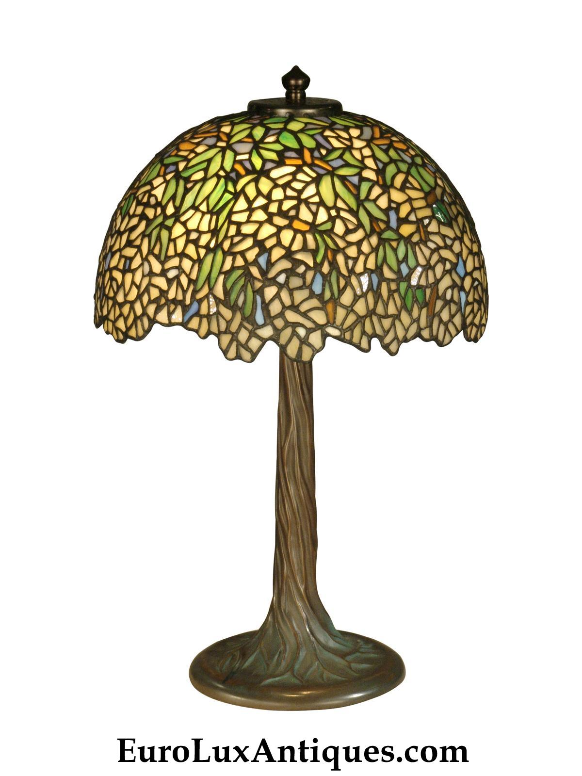 Antique inspirations in Dale Tiffany lamps at EuroLuxAntiques.com