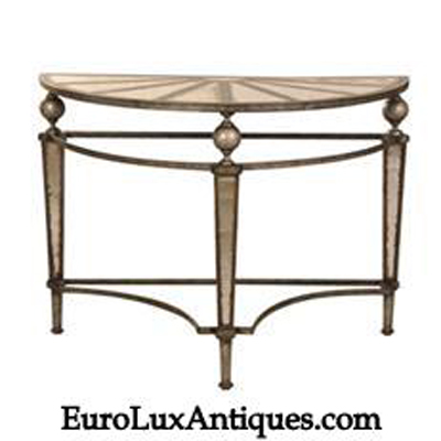 Demi Lune Console Table from EuroLuxAntiques.com