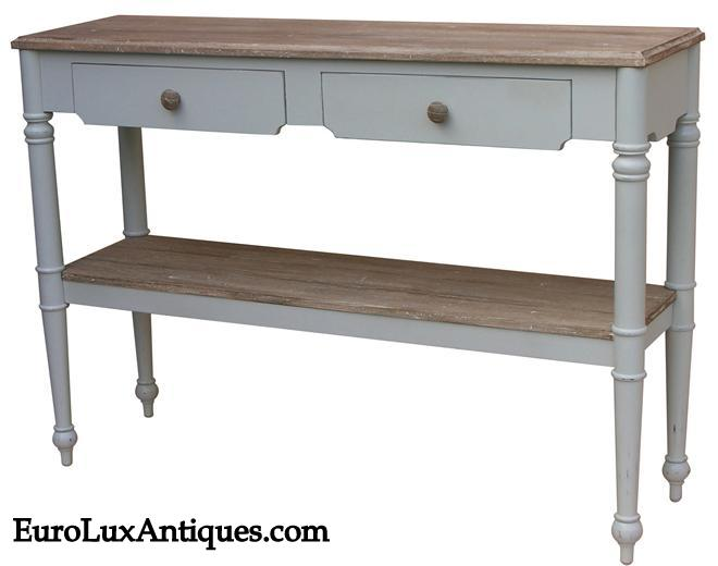 Provence console table from EuroLuxAntiques.com