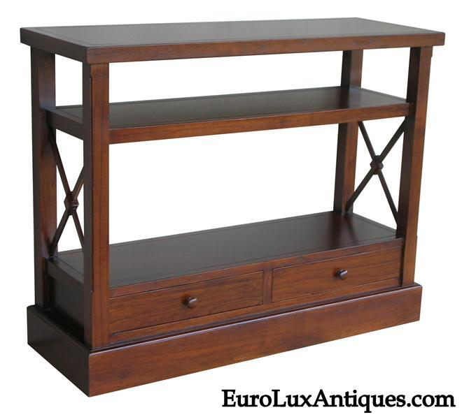 Walnut console table from EuroLuxAntiques.com
