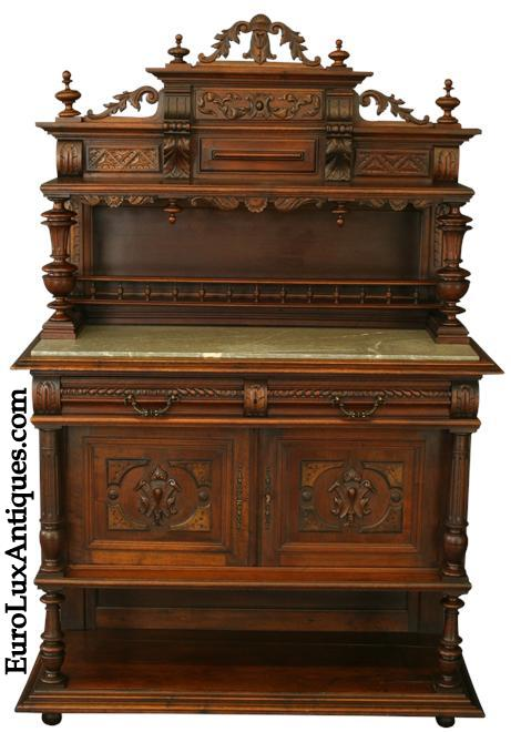 Antique server or sideboard for our client's Victorian Restoration house