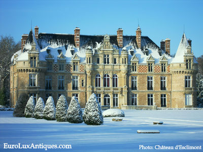 Château d'Esclimont is a fairytale French castle hotel