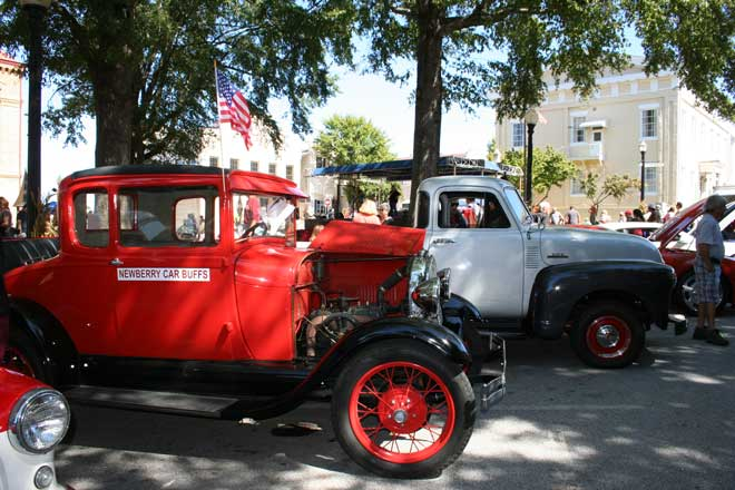 Newberry Oktoberfest Classic Car show