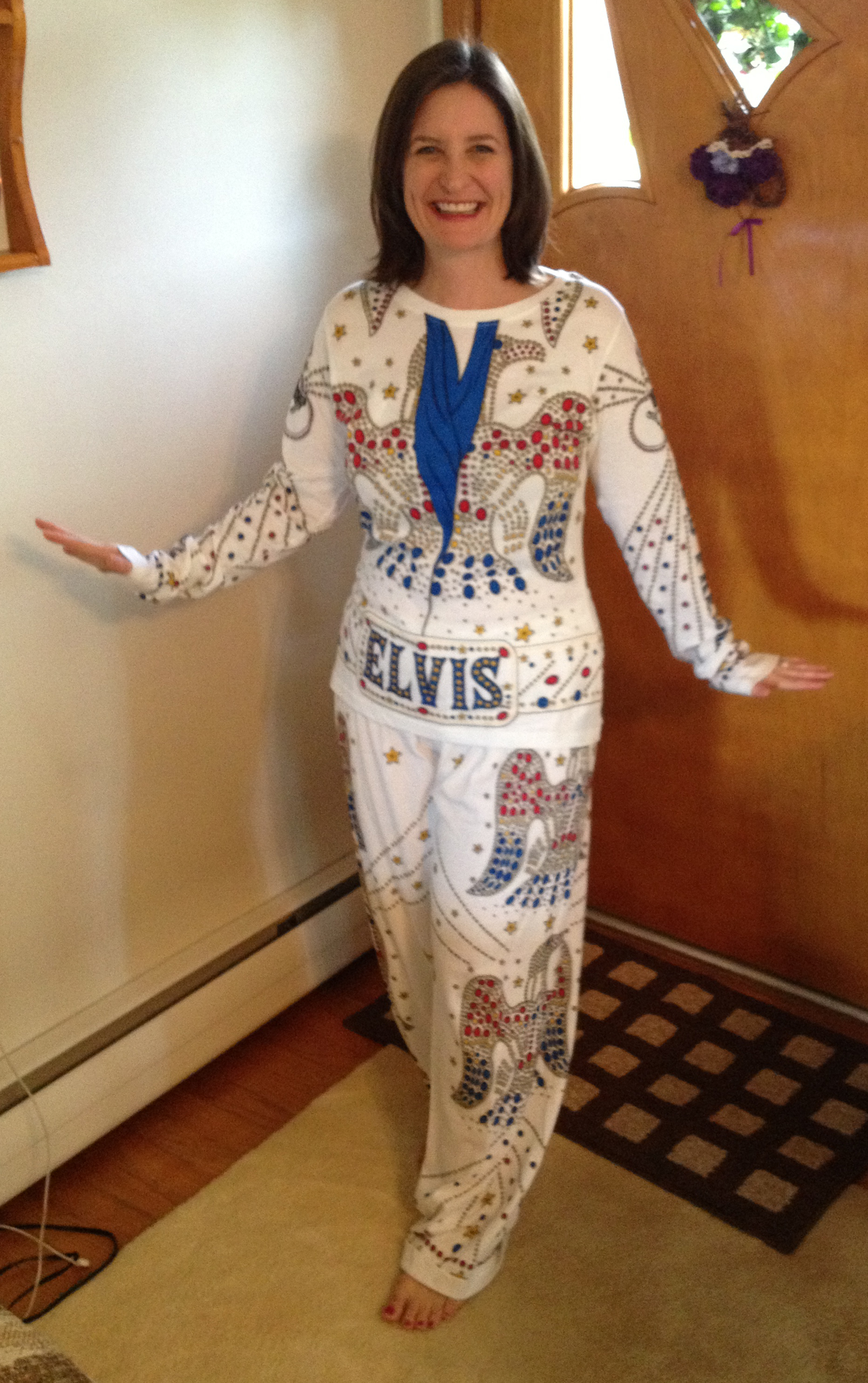 Elvis suit - ready for the South Carolina Elvis Festival