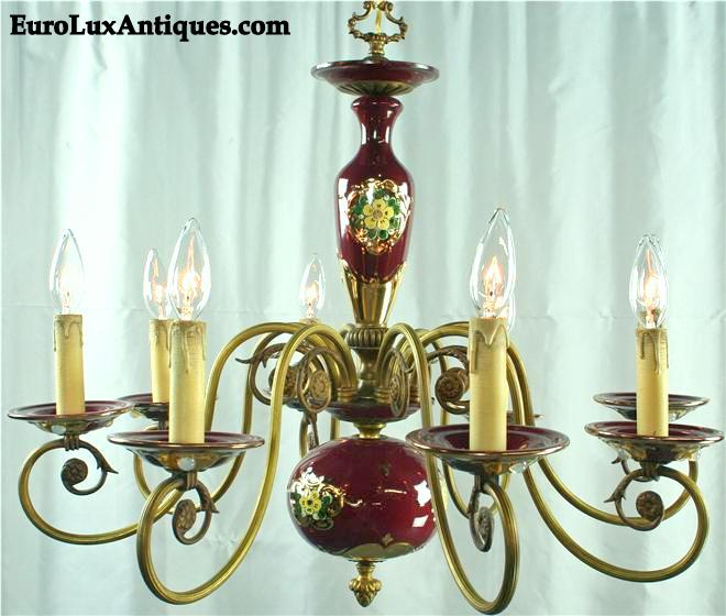 Vintage Hubert Bequet Chandelier