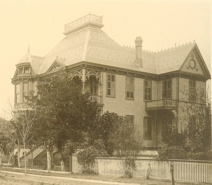Our client's Victorian restoration home as looked in 1894