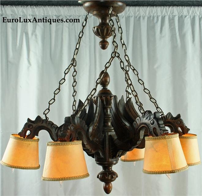 Dragon Gothic Chandelier