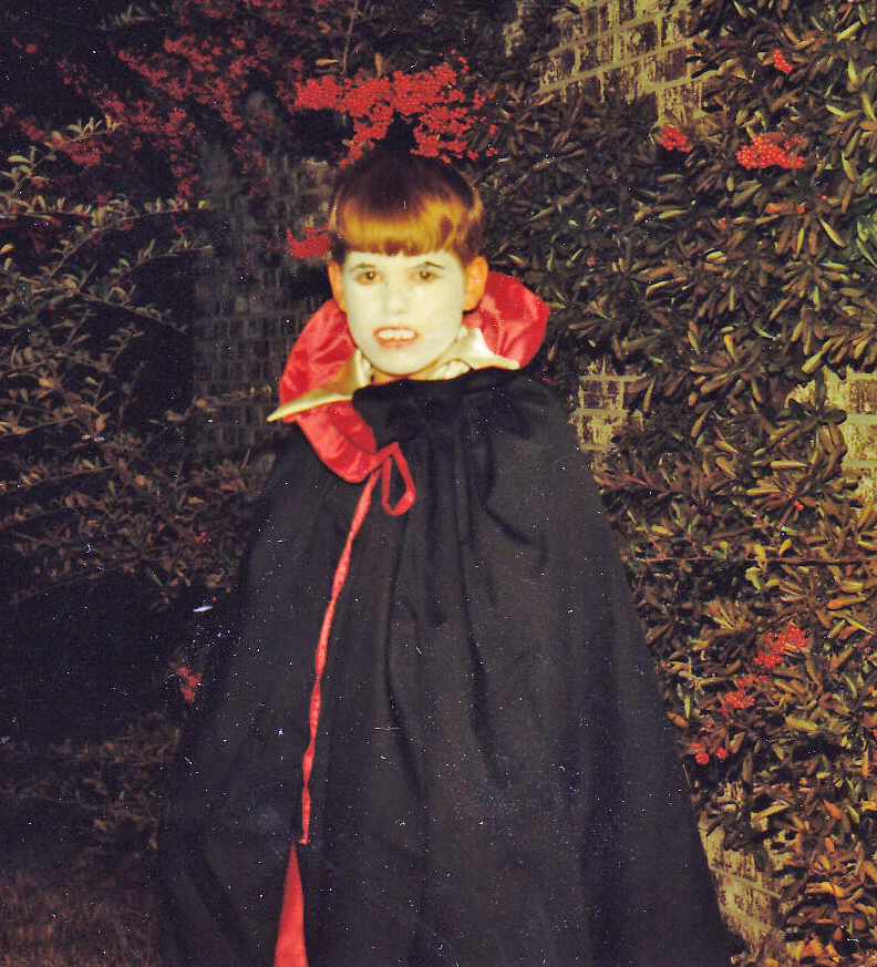 Vintage Halloween Vampire photo