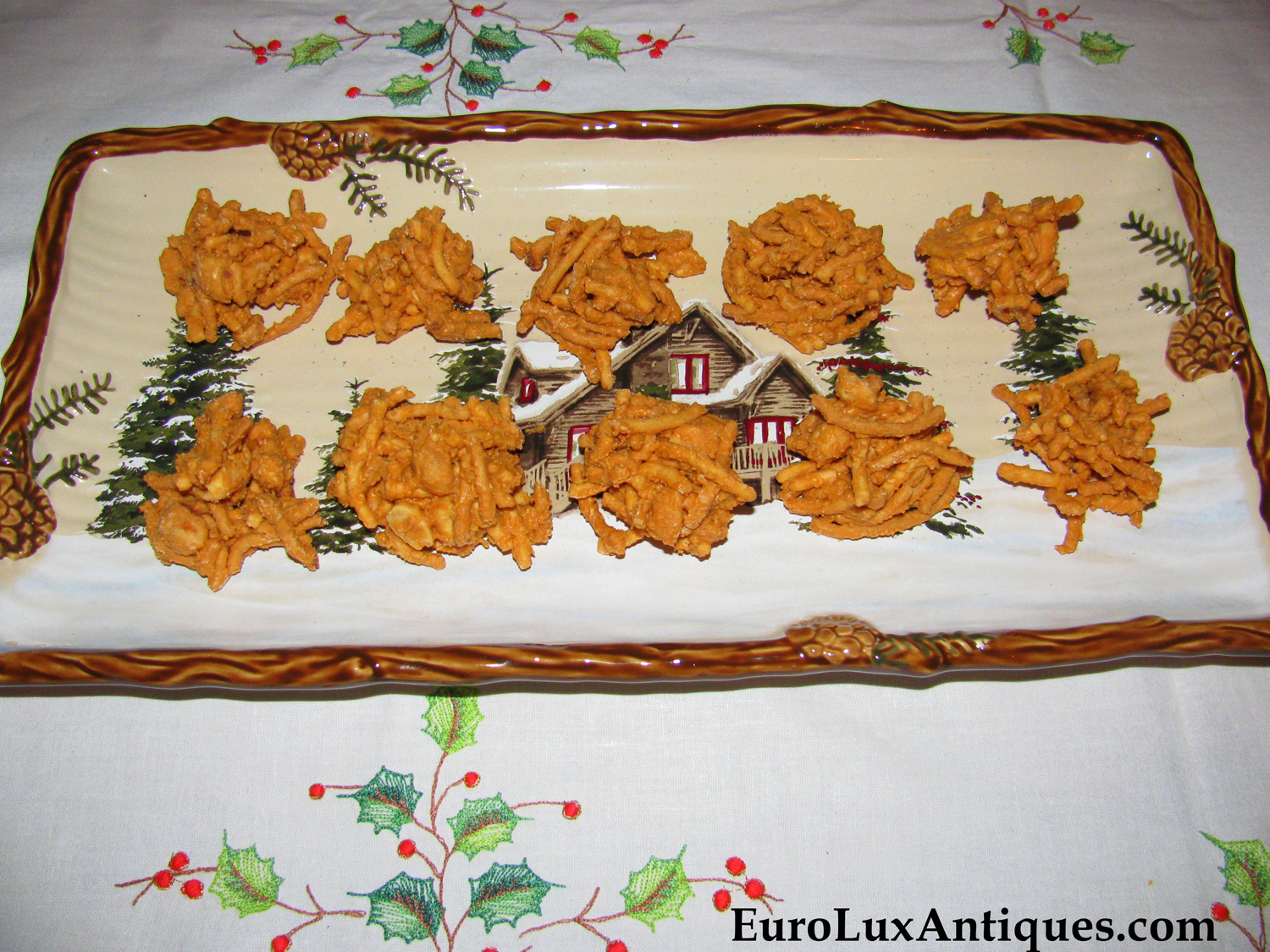 Christmas Haystacks Cookies