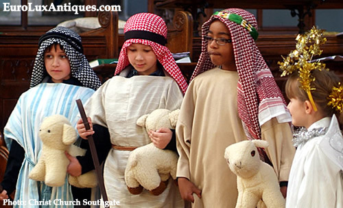Children shepherds