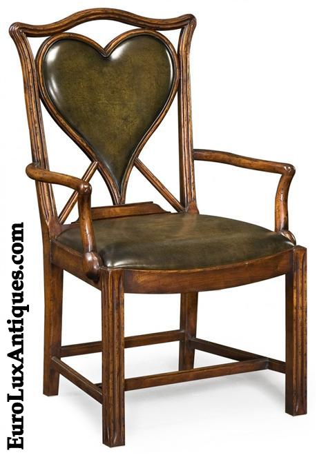 Jonathan Charles Leather Chair