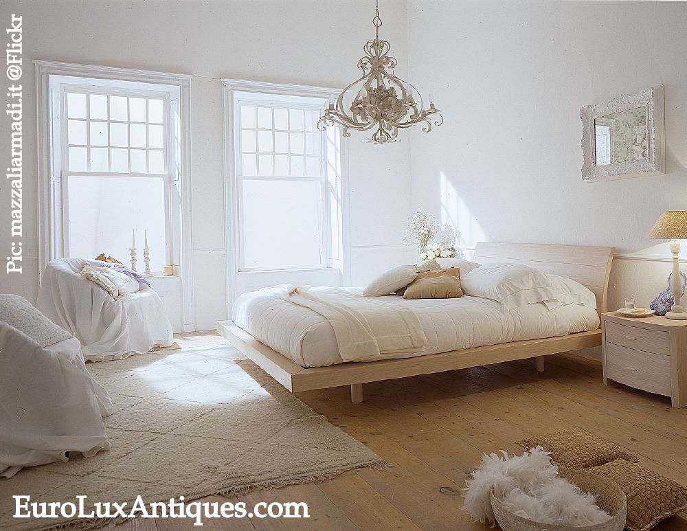 Romantic Bedroom Decor White ROom