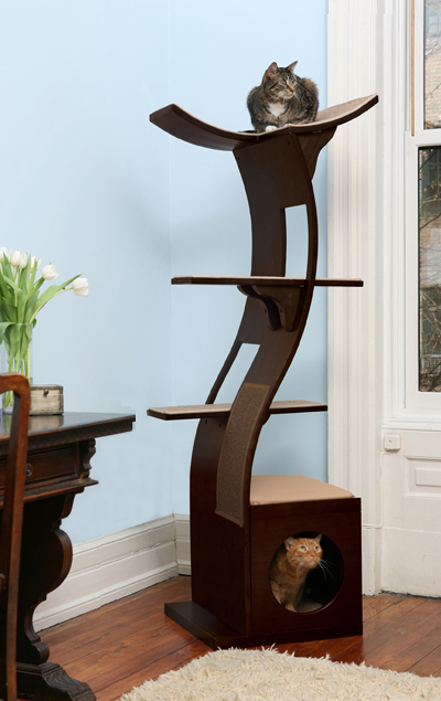 Upscale Pet Furniture Mid Century Modern