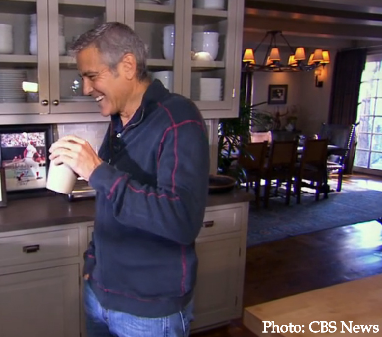 Celebrity antiques: Clooney dining room