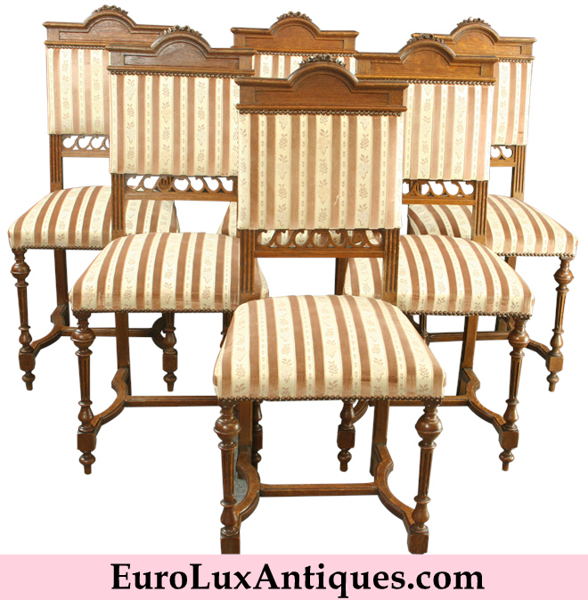 Antique 1920 Louis XVI Chairs