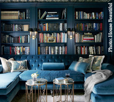 Blue antiques and decor trends