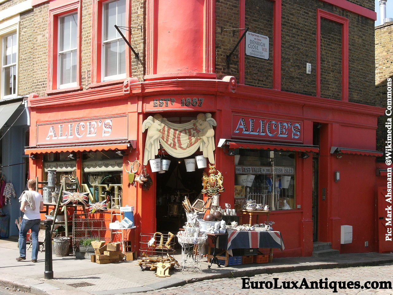 Portobello Road London Alices antiques