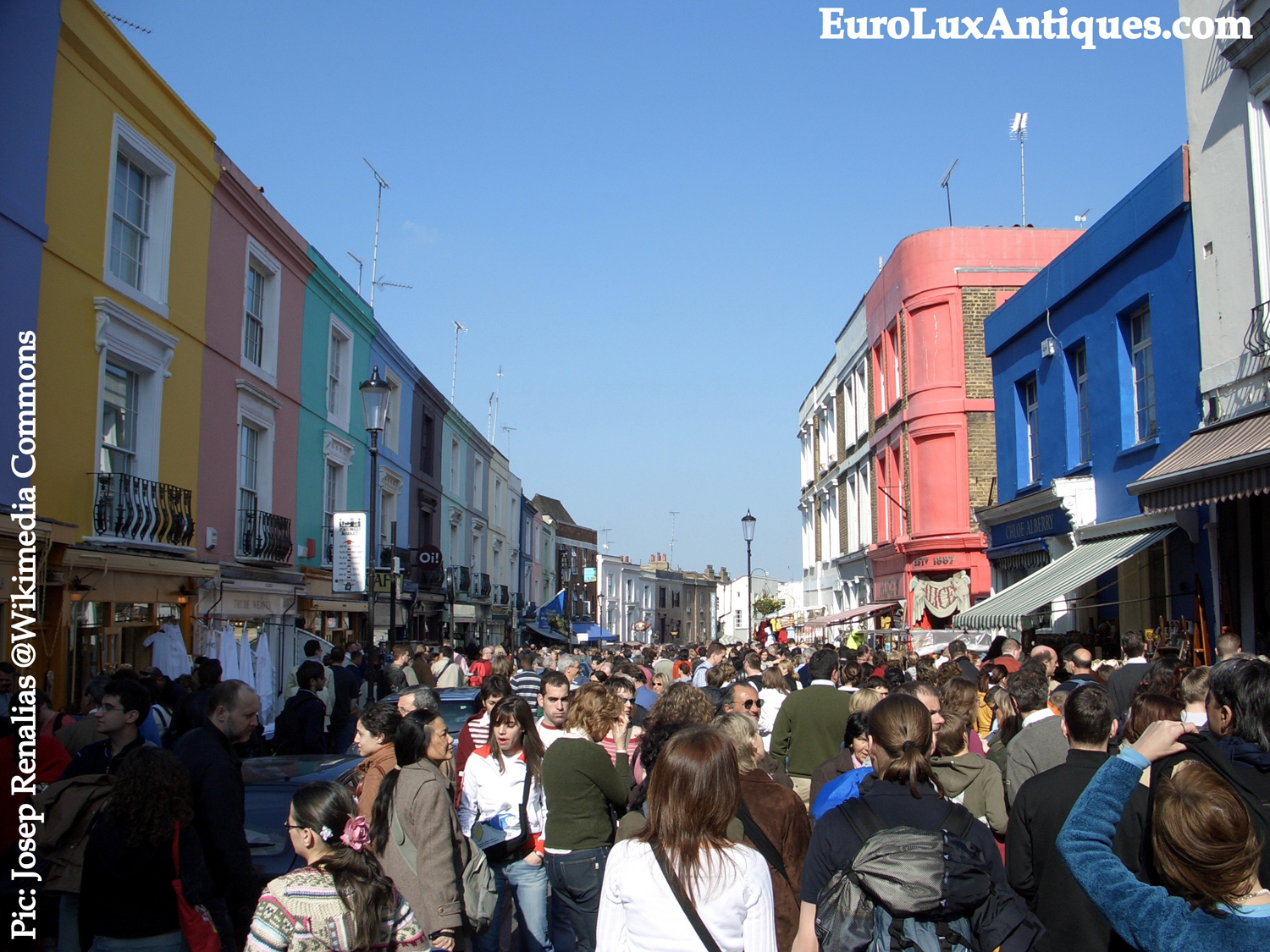 Portobello Road antiques market