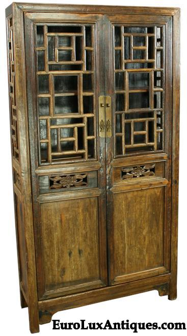 Late Qing Dynasty Antique Chinese Cabinet