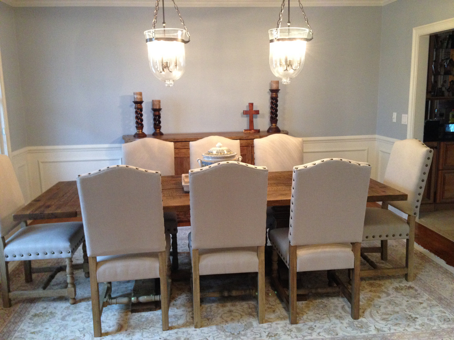 Client Spotlight: Spanish Style Madrid Dining Chairs | Letters ...