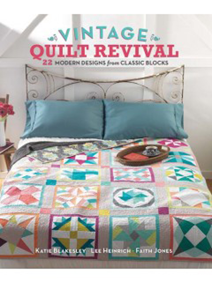 Vintage Crafts Vintage Quilt Revival book