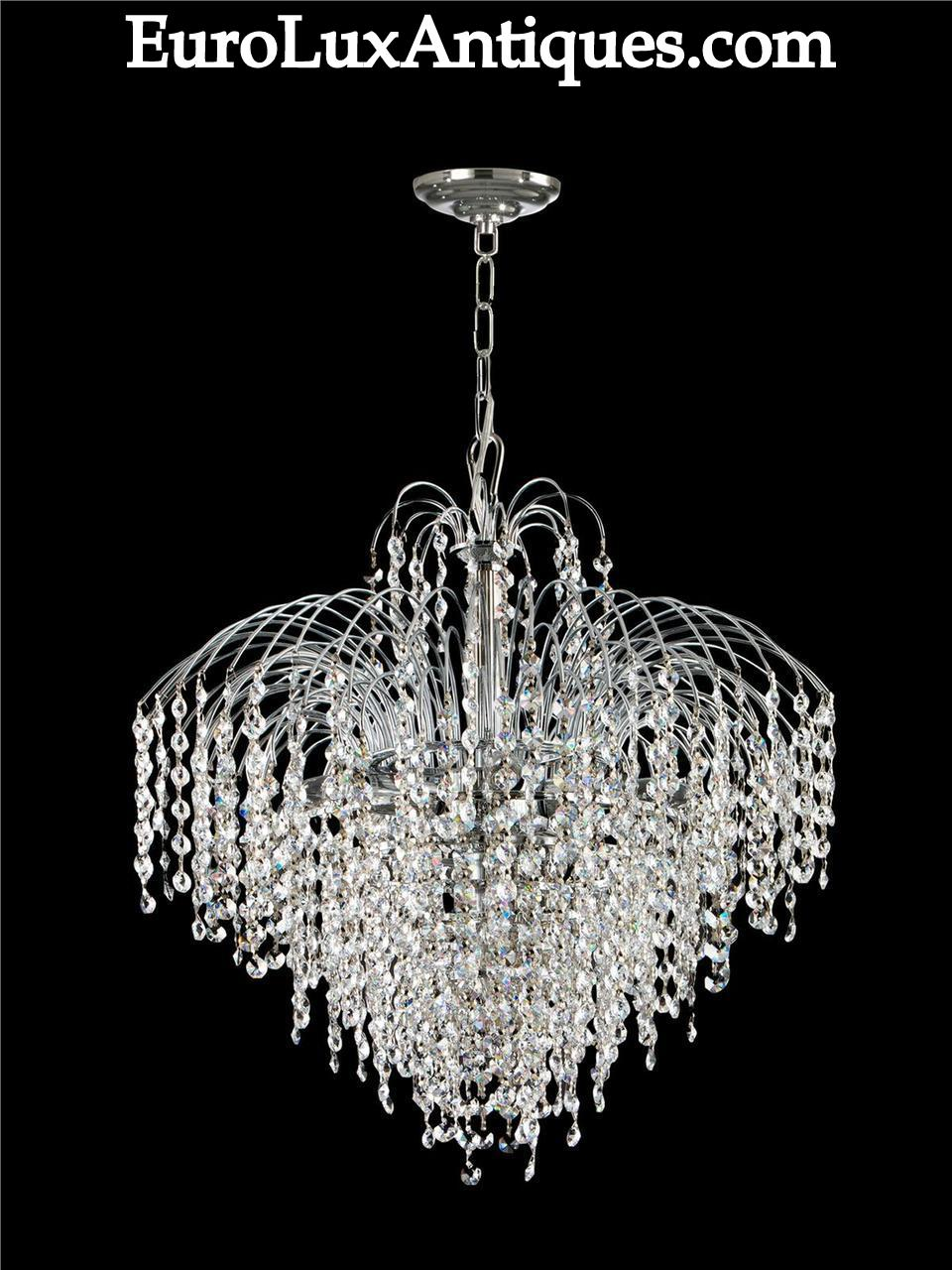 Dale Tiffany Crystal chandelier