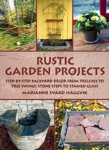 Rustic garden projects for outdoor living