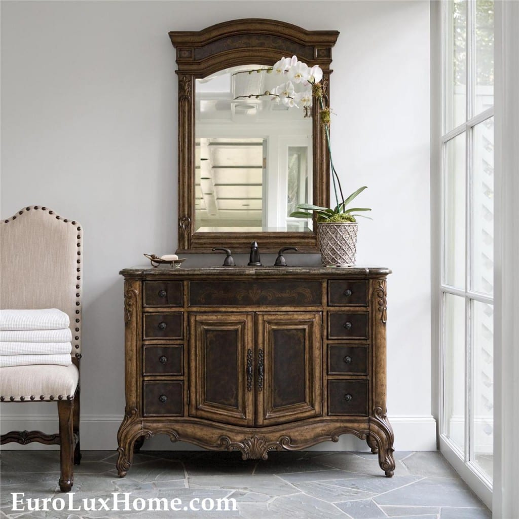 Ambella Home sink chest at EuroLux Home