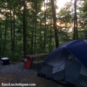 Camping in Asheville, NC