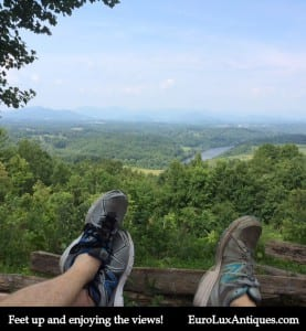 Beautiful view in Asheville NC