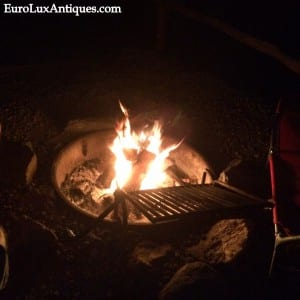Campfire in Asheville NC