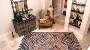 antiques and decor eclectic room