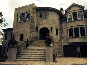 Client's home: A Castle in Charleston