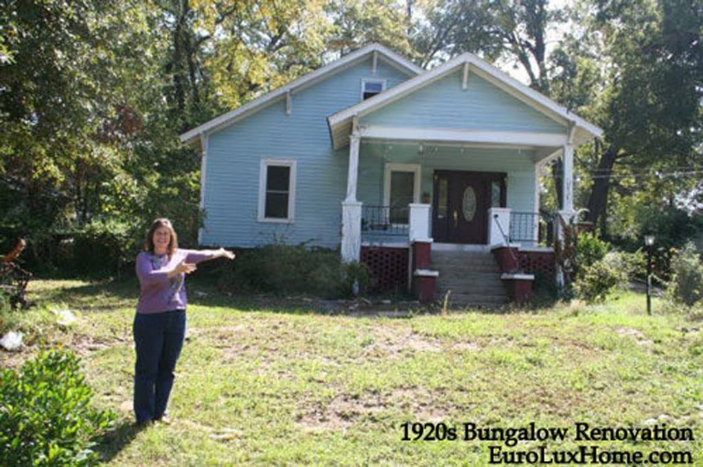 1920 bungalow before renovation