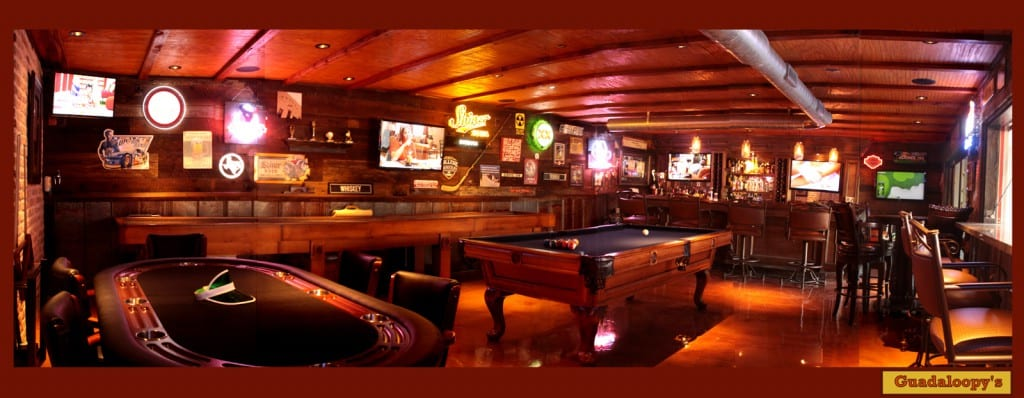 Bar and Games Room