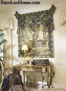 European Style Tapestries inspired by antique wall hangings