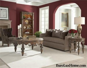 Ambella Home Red Wine Decor