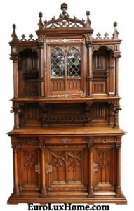 Antique French Gothic Buffet