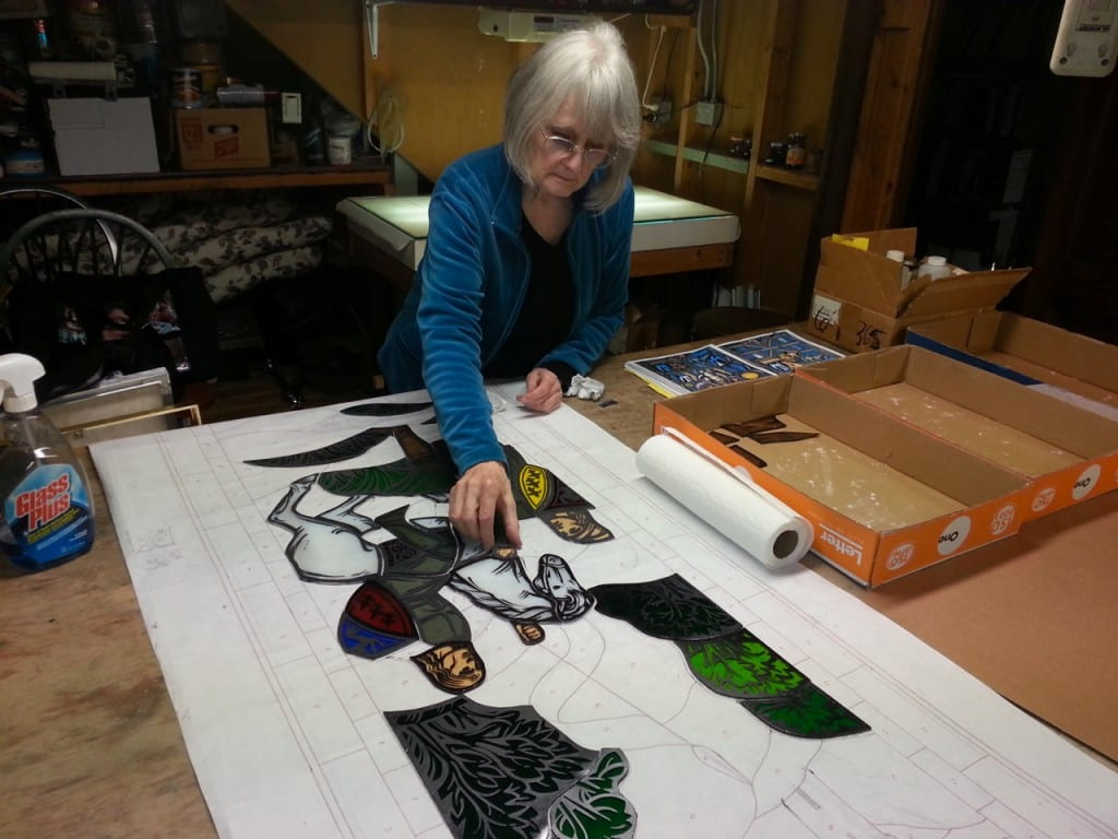 Stained Glass Window Artist