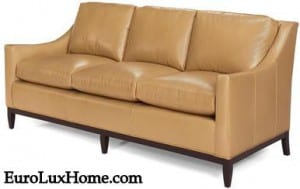 Top Grain Leather sofa customizable