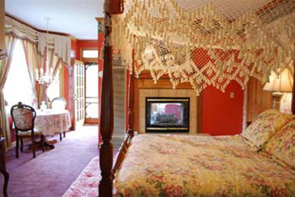 Barrett Suite Innisfree Victorian Inn North Carolina