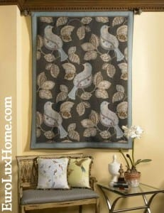 Bird Tapestry Decor
