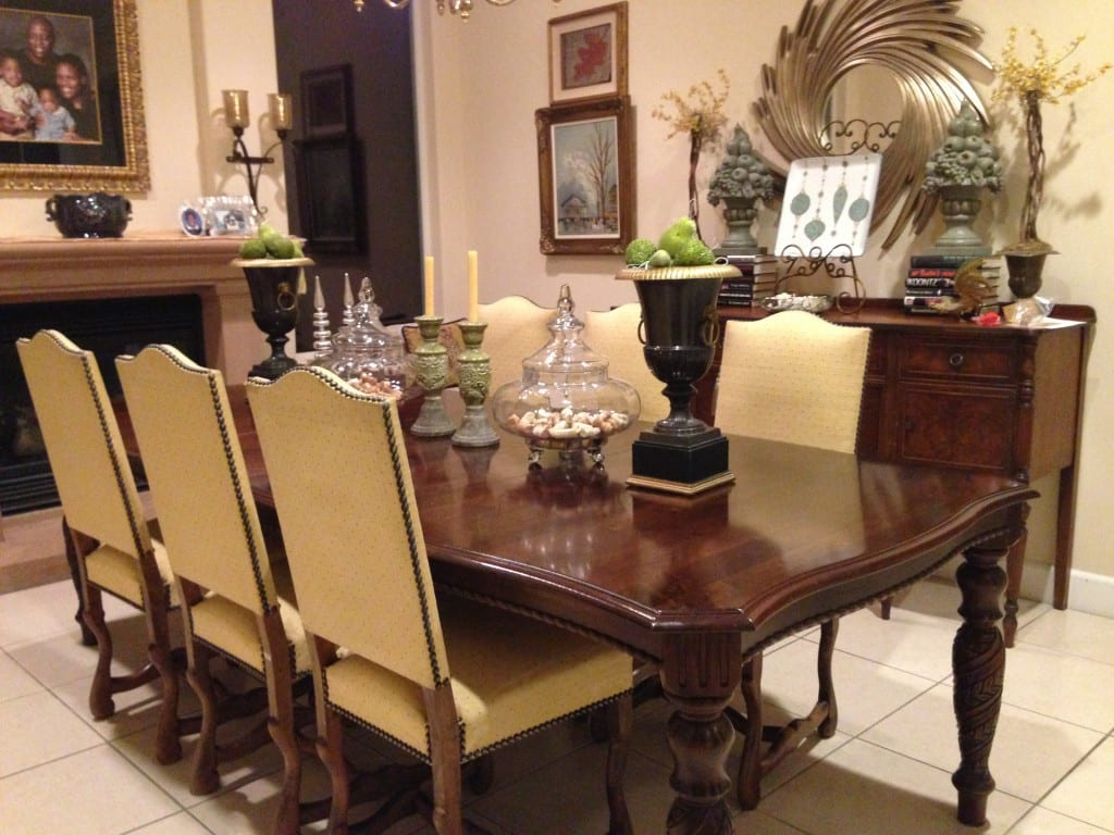 Client Spotlight Vintage French Sheepbone Chairs